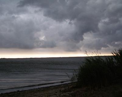 Skies over Mastic Beach