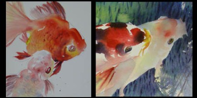 Day 5 painting with lian quan zhen paint with me for Fish eyes in paint
