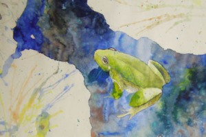 Mary's frog