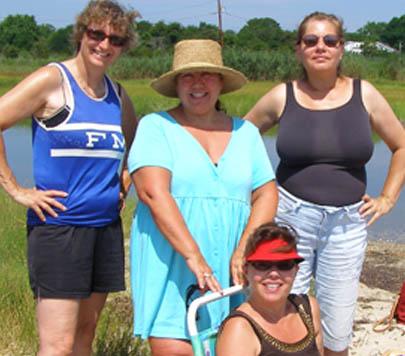 Chris, Lorraine, Jeanne & Mary
