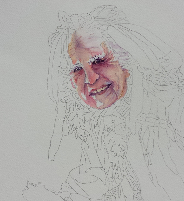 Painting Realistic Faces Face Looking so Realistic